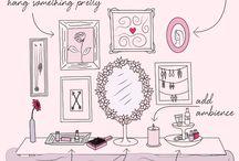 Vanity/Dresser Ideas / by Jess Bauernschmidt