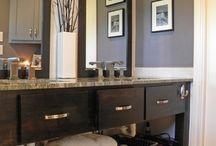 clean space... / 2 bathroom remodels / by lisa kording