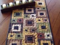 Table/ bed runners / by Debby Krzyston