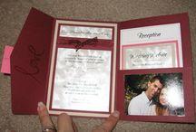 wedding invitations / by Julissa Johnson
