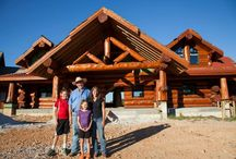 $2 Million Log Home / Enjoy a guided tour of the beautiful 7,500 square foot log home featured in our third episode of Timber Kings. / by Timber Kings