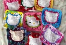 knitting and crocheting / by Sandra Willis