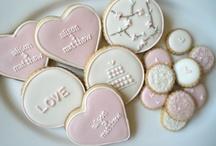 Wedding cookies / by Kay Slay