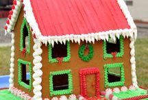 Gingerbread house  ideas / by Tracie Hiatt