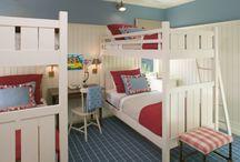 Kids rooms / by Melissa Biggs