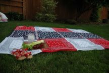 Bandana blanket / by Debby Morgan
