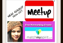 OUR MEETUP GROUP FREE NETWORKING IN NYC /   This is a fun group for entrepreneurs, small businesses and everybody that wants to learn for free about Social Media technologies, How to do networking in NYC, and also holistic networking for holistic practitioners.  All events are completely free and fun, so JOIN US!!  / by Naini Nakagawa