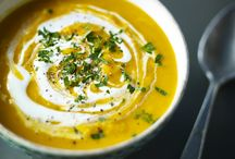 Soup recipes / From our home-made chicken soup recipes to easy leek and potato, turn a few humble ingredients into a satisfying simple meal / by BBC Food