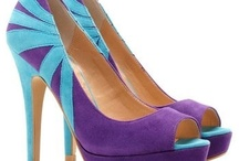 Purple and Teal Heels / by Charlotte Hornets