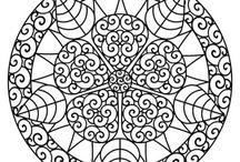 Zentangle, Mandalas / by Rosa Howington