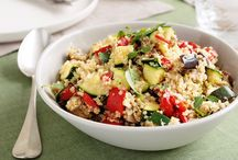 Quinoa recipes / by Amanda Payne