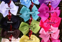 Hair Bows  / by Kimberly Liette