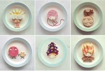 Food for Kids / Le plein d´idées déco et recettes pour les enfants / by Mademoiselle Wa