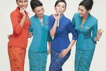 Stewardess Pramugari / Cabin crew, pretty, smile, service, uniform / by Sopian Risviana