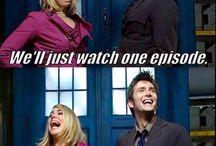 Doctor Who and Sherlock Love. :)  / by Lauren Scheller
