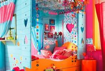 Girls bedroom and bathroom ideas / by Tene Martin