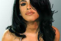 AALIYAH / R.I.P. The beautiful Aaliyah Haughton aka Baby Girl 1979-2001. / by Kweenish P.