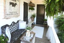 Dream House Ideas - Porch / by Stephanie @ The Cozy Old Farmhouse