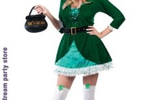 St. Patrick's Day / Planning for a party or visiting the parade on St. Patrick's Day? Find variety of St. Patrick's Day Costumes, Costume Accessories and Party Supplies.  / by PartyBell.com-Online Costumes and Party Supplies Store