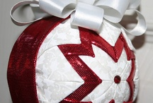 Quilt Ornament Balls / by Dawn Bethune