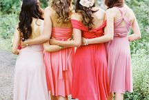 Bridesmaids / Ideas for my yuvs on the big day! / by Kristen Brown Buchanan