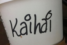 What's your name again? / My name, as spelled by Starbucks / by Keyhé Delsink