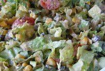 Recipes- salad / by Raechal Carron