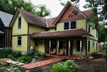 dream home: exterior / by Siri Paulson