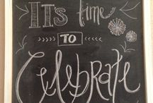 Chalkboard / by Brittany Howell