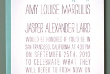 invites / by Jessy LaBarge