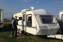 Home on the Road / Traveling with 1991 Award 723 Travel Trailer / by Catherine Scott