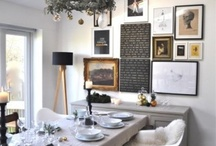 dining room ideas / by Gabe Fahlen