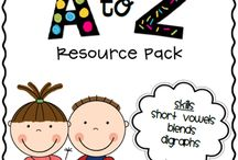 Learning A-Z Resources / by Dara Gastley