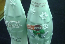 "Coca Cola Bottles ""Old and New"" / by Shirley Benjamin"
