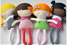 "All ""Dolled"" Up... / homemade dolls / by Jenifer Fleming"