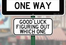 Funny Road Signs / by Stormi