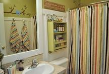 bathroom ideas / by Malia Kenney-Vasallo