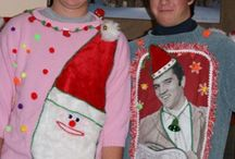 Tacky Christmas sweaters. Lol / by Angie Cagle
