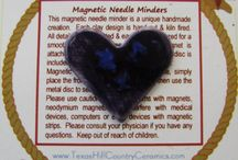 Magnetic Needle Minders / by Texas Ceramics