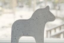 Concrete / DIY Concrete Inspiration / by Mimi Brioche
