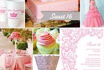 sweet 16 party ideas / by GeorgeandVeronica Mercado