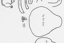 Templates y dibujos varios / by elda alvarado