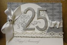 ANNIVERSARY/WEDDING CARD / by Kathy Anzalone- Lisosky