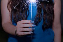 A New Blue Hue / by Sally Hansen