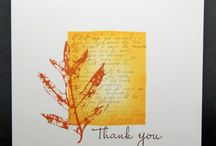 Cards - Leaves / by Jessie