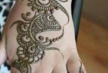 mehndi art ( henna ) / I love the look of Mehndi / by Patricia Calderon