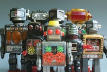 Robbie the robot and pals / Robots of all types! / by Polam Hill