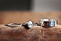 Southern Sparklers / Engagement and wedding ring inspiration for bride and groom / by Southern Weddings Magazine
