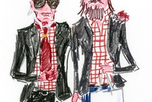 illustration / by Chizuko Kitamura