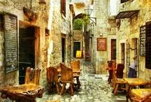 Corners, Alleys, Walkways & Stairways / by Novira Camelia